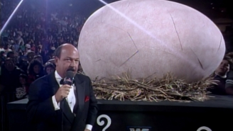 The Undertaker Thought The Gobbledy Gooker's Egg Was Intended For Him