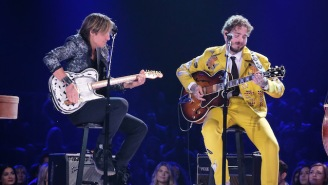 Post Malone Performed With Blake Shelton And Shawn Mendes On NBC's Elvis Presley Tribute Show