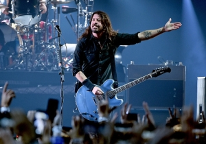 Foo Fighters's Pre-Super Bowl Concert Featured Zac Brown, Queen's Roger Taylor, And Others