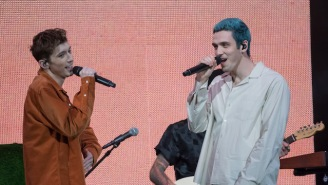 Lauv And Troye Sivan's Live Debut Of 'I'm So Tired' Is Just As Good As The Studio Version Of The Track