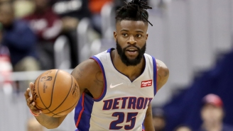 The Lakers Will Reportedly Acquire Reggie Bullock From The Pistons For Svi Mykhailiuk