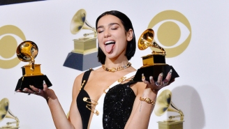 Dua Lipa Elaborated On The 'Step Up' Reference In Her Speech At A Grammy Press Conference