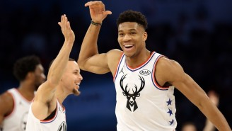 The All-Star Game Showed Us How Steph Curry And Giannis Antetokounmpo Are The Perfect Basketball Duo