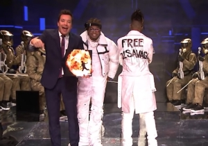21 Savage Got Support On 'The Tonight Show' With Metro Boomin And Gunna's Performance