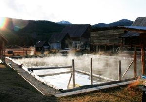 Instead Of Skiing, Take A Day Trip To This Secret Idaho Hot Springs