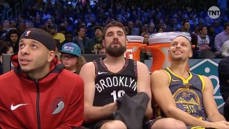 Joe Harris Held Off Steph Curry To Win The All-Star-Saturday Three-Point Contest