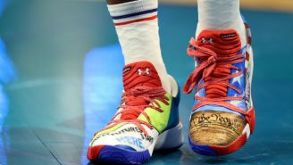 Joel Embiid's All-Star Game Shoes Were Designed By Philadelphia Schoolchildren