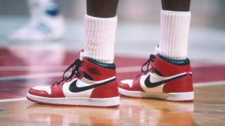 A Pair Of Original Jordan 1s Recently Sold For A Record Price