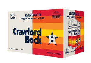 Karbach Brewing And The Houston Astros Teamed Up To Make Crawford Bock