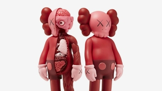KAWS Re-Released His Blush Figurines For Valentine's Day