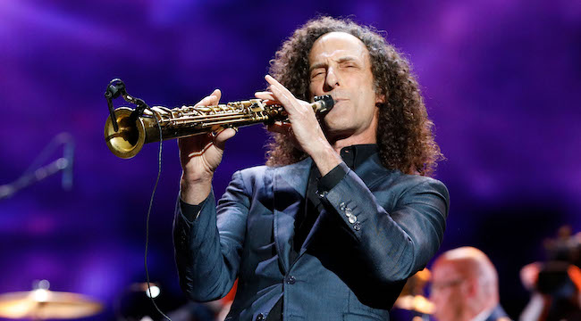 Kenny G Explains How He Ended Up Playing Sax In Kanye's Living Room For Valentine's Day