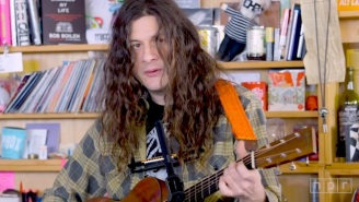 Kurt Vile's Chill Vibes Were Perfect For His Relaxing Tiny Desk Performance