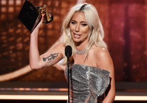 Watch Lady Gaga's Emotional Grammys Acceptance Speech For 'Shallow' Winning Best Pop Duo/Group Performance