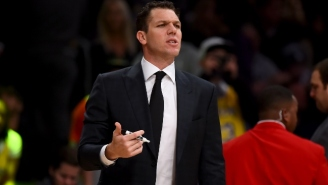 Luke Walton Reportedly Had A Heated Exchange In The Locker Room With Several Lakers Veterans (UPDATE)