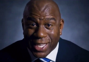 Magic Johnson Hyped Up The Super Bowl By Telling The Story Of Boston Vs. Los Angeles