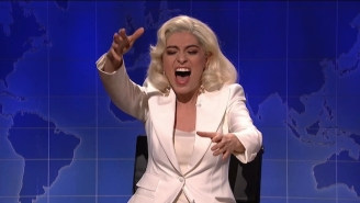 Melissa Villaseñor Busted Out Her Amazing Lady Gaga Impersonation On 'SNL'