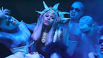 Nicki Minaj Fans Are Convinced Her 'Hard White' Video Contains A Scorpion-Smashing Shot At Drake