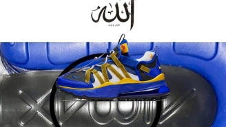 Thousands of Muslims Asking For Nike To Recall 'Blasphemous' Sneaker Design