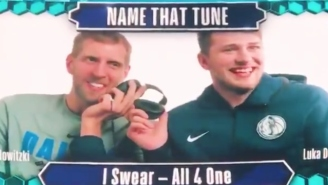 Dirk Nowitzki And Luka Doncic Playing Name That Tune Was The Best Part Of All-Star Weekend