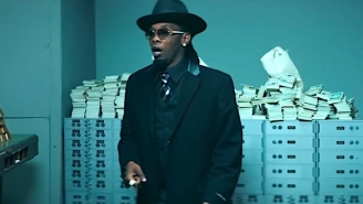 Offset And Gucci Mane Rob A Bank In Their 1930s Gangster Movie-Inspired 'Quarter Mill' Video