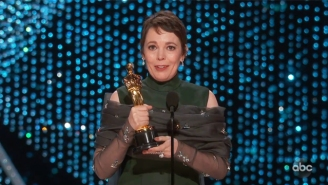Olivia Colman Gave The Most Endearing Oscar Speech Of The Night After Winning Best Actress For 'The Favourite'