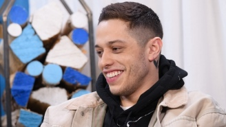 Pete Davidson Had A Matching Tattoo With Ariana Grande, But He Replaced It With The Word 'Cursed'