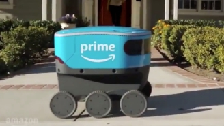 Everyone Wants To Beat Up Scout, Amazon's Adorable New Delivery Robot