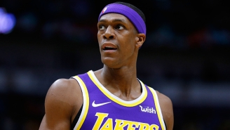 James Worthy Called Out Rajon Rondo After The Lakers' Ugly Loss To The Grizzlies