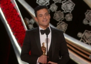 Rami Malek Thanked His Immigrant Parents After He Won The Oscar For Best Actor