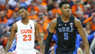 R.J. Barrett Played Like A Superstar In Duke's Win Over Syracuse
