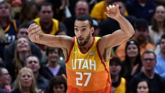 Vince Carter Offered Encouragement To Rudy Gobert Following His All-Star Snub