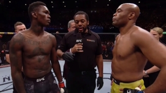Israel Adesanya Earned A Decision Victory Over Anderson Silva At UFC 234