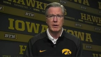 Iowa Coach Fran McCaffrey Earned A Two-Game Suspension For Calling A Ref A 'Cheating Motherf*cker'