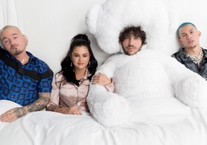 Selena Gomez Teamed Up With Benny Blanco And J Balvin For The Steamy Single 'I Can't Get Enough'