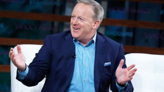 Sean Spicer Sure Seemed A Little Tipsy In A Live, Post-State Of The Union Interview Last Night