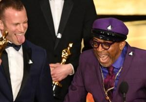Spike Lee Shrugs Off President Trump's Tweet About His 'Racist Hit' Oscars Speech