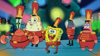 Fans Think The Super Bowl Halftime Show Needed A Lot More 'SpongeBob'