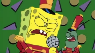Maroon 5 Really Will Perform A SpongeBob SquarePants Song At Halftime Of The Super Bowl