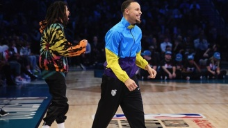 Steph Curry's All-Star Saturday Night Jacket Was Inspired By His Childhood