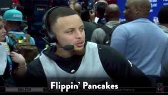 Steph Curry Slipped Silly Phrases Into All-Star Media Day As A Joke With Jimmy Fallon