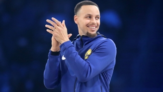 Steph Curry Needed 'A Nap' After Throwing Down A 360 Dunk In All-Star Warmups