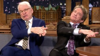 Steve Martin And Martin Short Spent Their Entire 'Tonight Show' Interview Roasting Jimmy Fallon