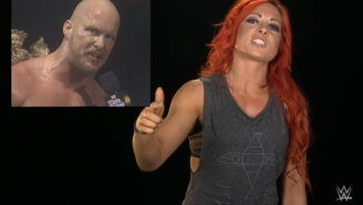 Steve Austin Responded To Comparisons Between Himself And Becky Lynch