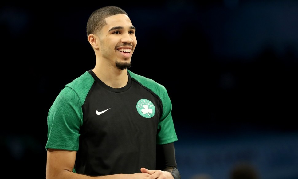sports shoes defc8 b862f Jayson Tatum Will Be Asked To Be 'The Franchise' In Boston