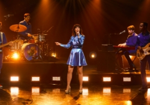 Natalie Prass Played Her Groovy, Romantic Single 'Short Court Style' On 'The Late Late Show'
