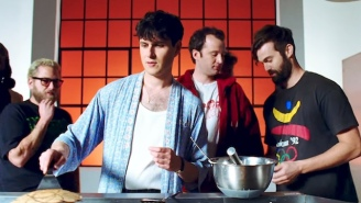 There's A Snake In The Kitchen In Vampire Weekend's 'Harmony Hall' Video, Which Features Jonah Hill