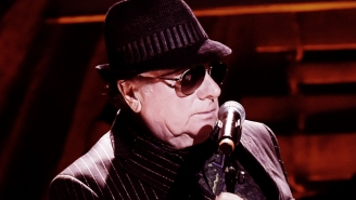 Even At 73, Van Morrison Makes Entertaining Seem Easy