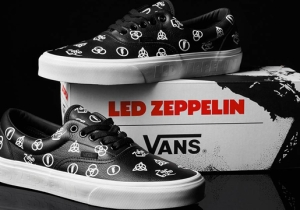 Vans Celebrates Led Zeppelin's 50th Anniversary With A New Sneaker Collection