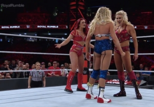 All The Looks From The Women's Royal Rumble Match, Ranked