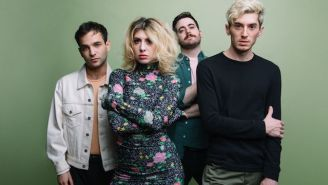 Charly Bliss's Dark New Pop Single 'Chatroom' Is Both Their Most Melodically Joyful And Lyrically Serious